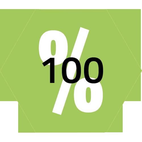 100 % öko
