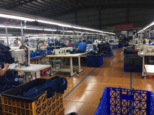Im Inneren der Fabrik. Foto: Thi Nyguen